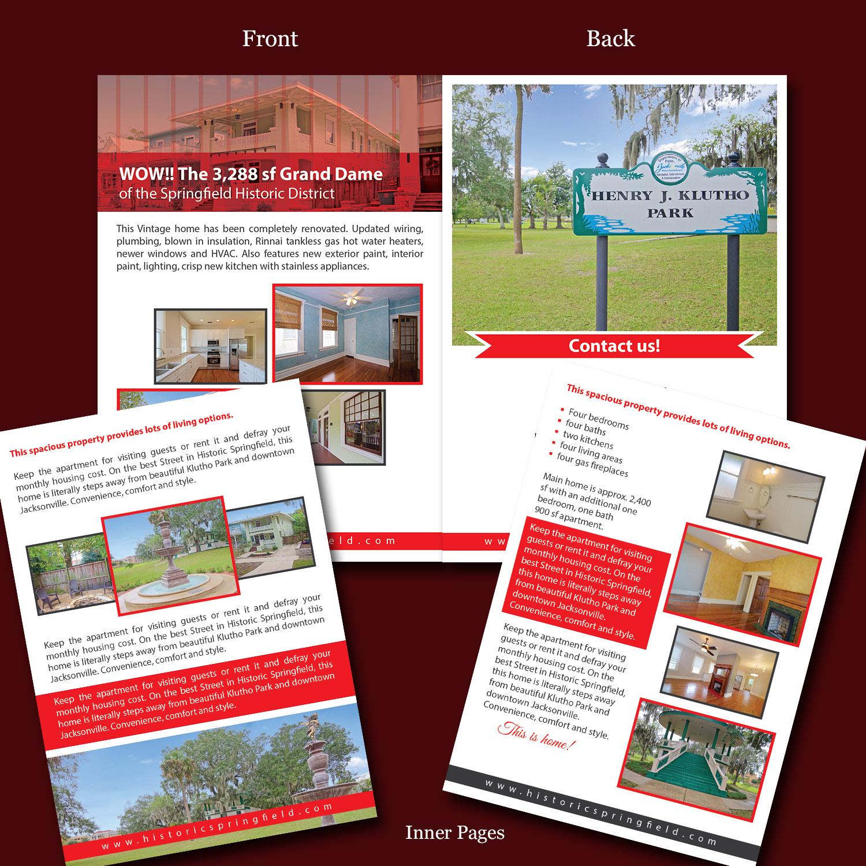 Upmarket Property Development Brochures : Upmarket brochure designs real estate design