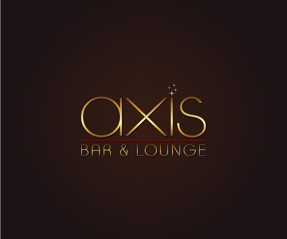 Logo Design By Angelo For AXIS Bar And Lounge   Design #7819525