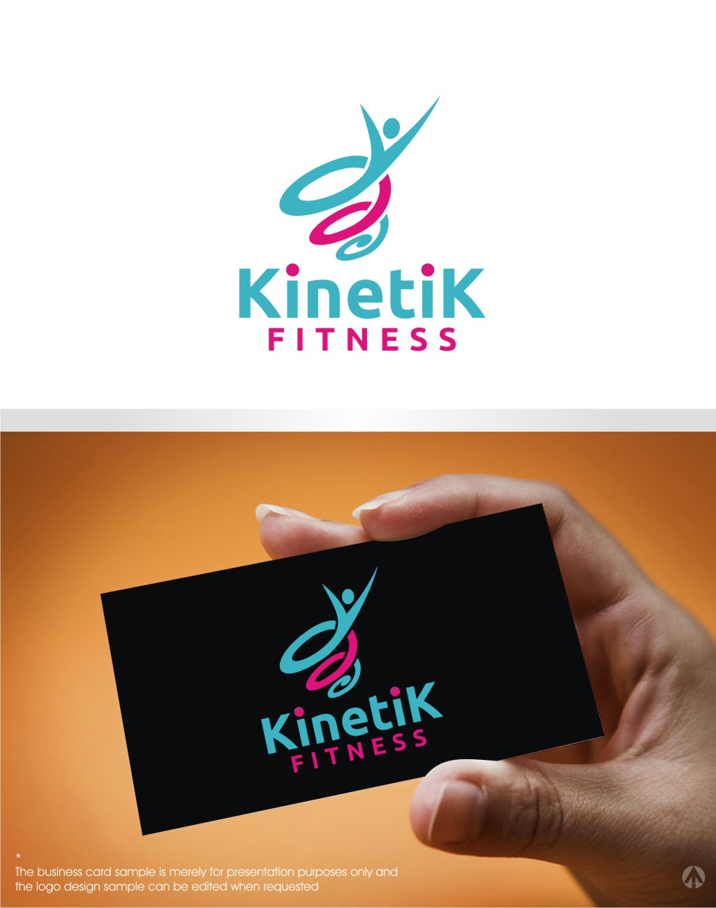 199 Playful Logo Designs | Fitness Logo Design Project for Kinetik ...