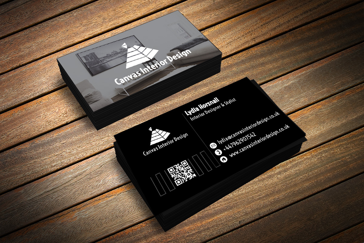 Business Card Design By Aabirkashif For Interior Designer Stylist Looking A Letter Press
