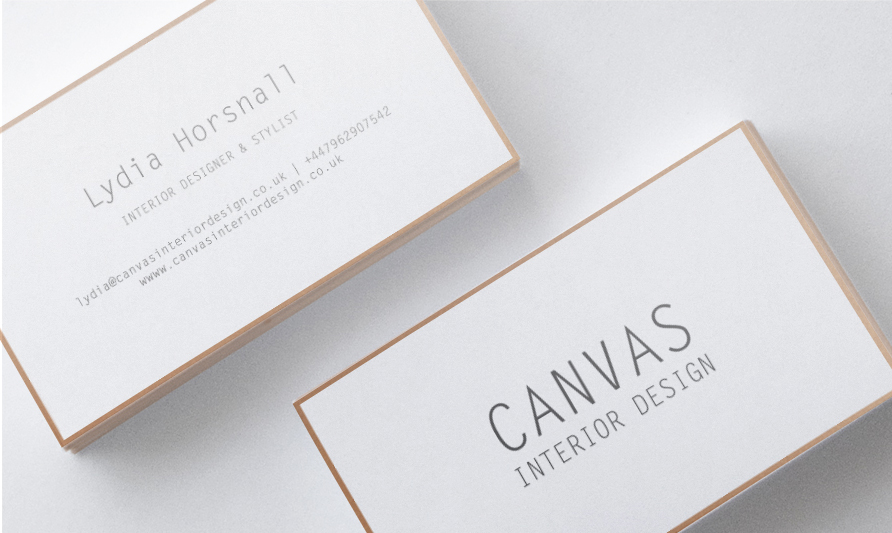 Business Card Design By Amy Curley For Interior Designer Stylist Looking A Letter Press