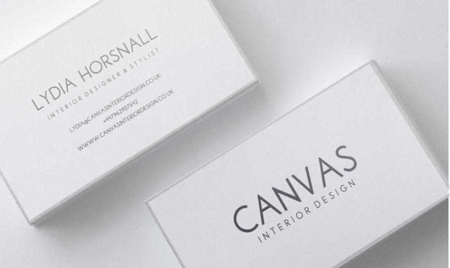 Design De Carte Visite Audacieux Haut Gamme Business Pour Canvas Interior En Aux United Kingdom