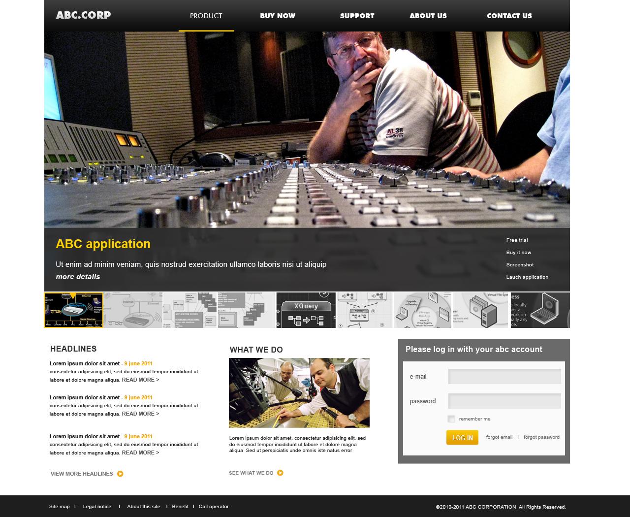 Homepage Designer playful web design for chris wu by monographic design 407322