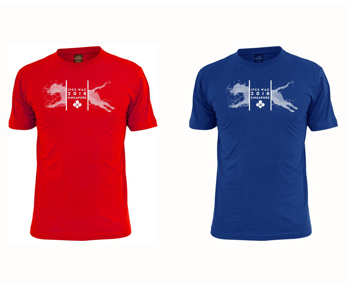 Modern Elegant T Shirt Design For A Company By Sandras
