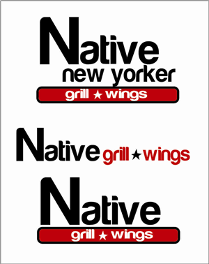 Logo Design by FetchPromotions - New Logo Design for 'Native New Yorker' Restaurant