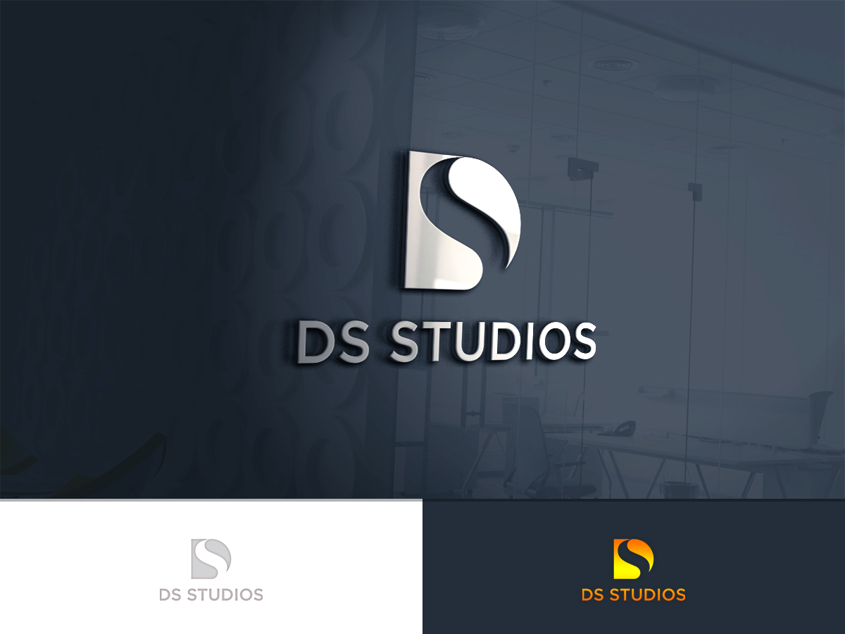 modern playful business logo design for ds studios by