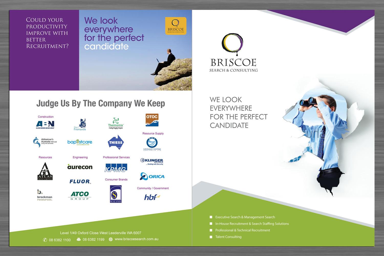 Moderne masculin boutique design de brochure for briscoe for Boutique design consultancy