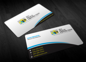 Business Card Design 7852323 Submitted To For Security Personal