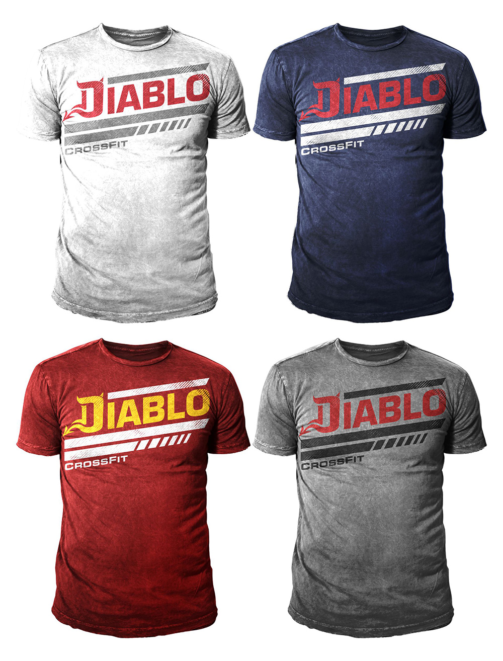 playful modern t shirt design for diablo fitness engineering by 777sky design 7906434. Black Bedroom Furniture Sets. Home Design Ideas