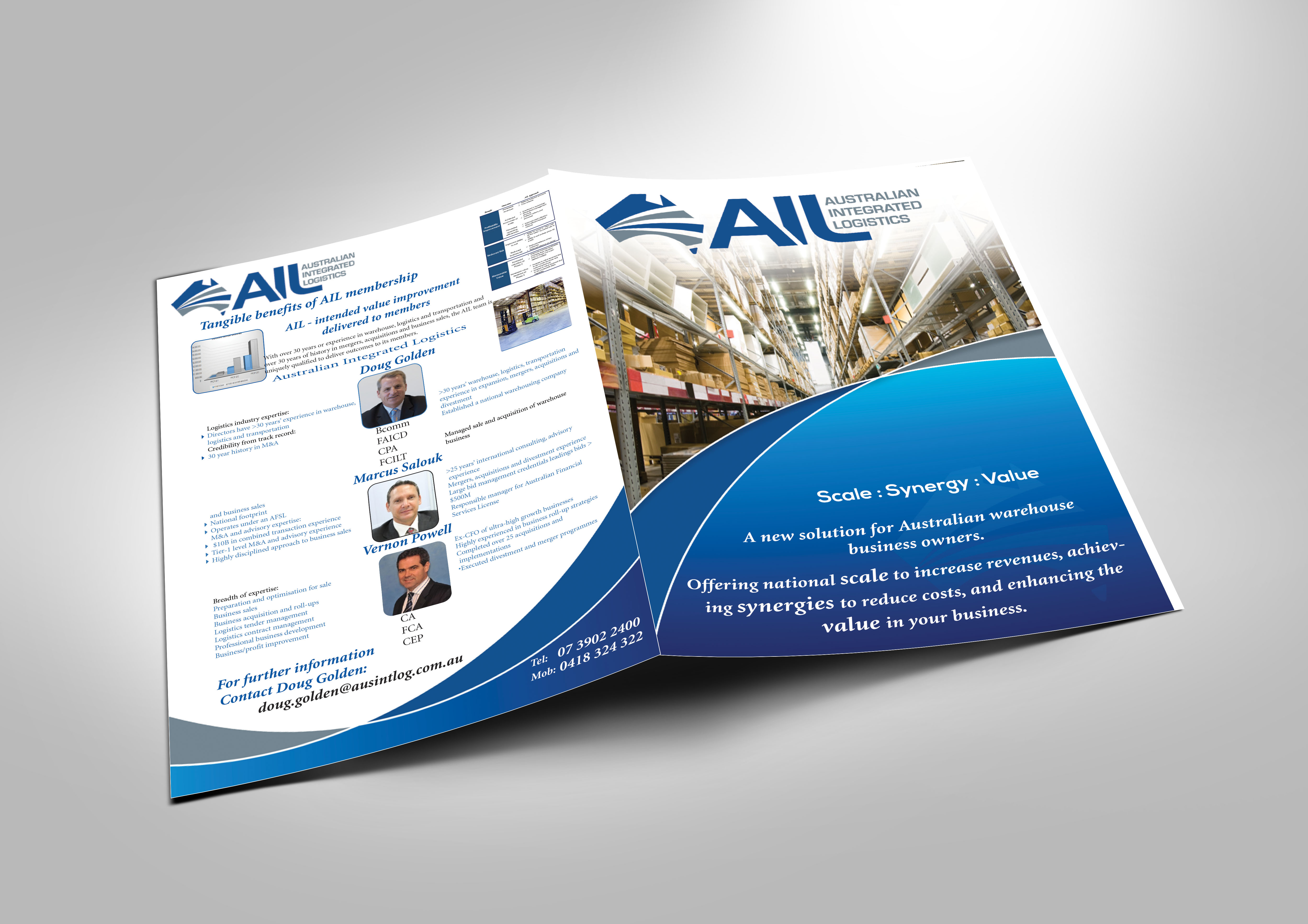 Serious, Masculine, It Company Flyer Design for a Company by