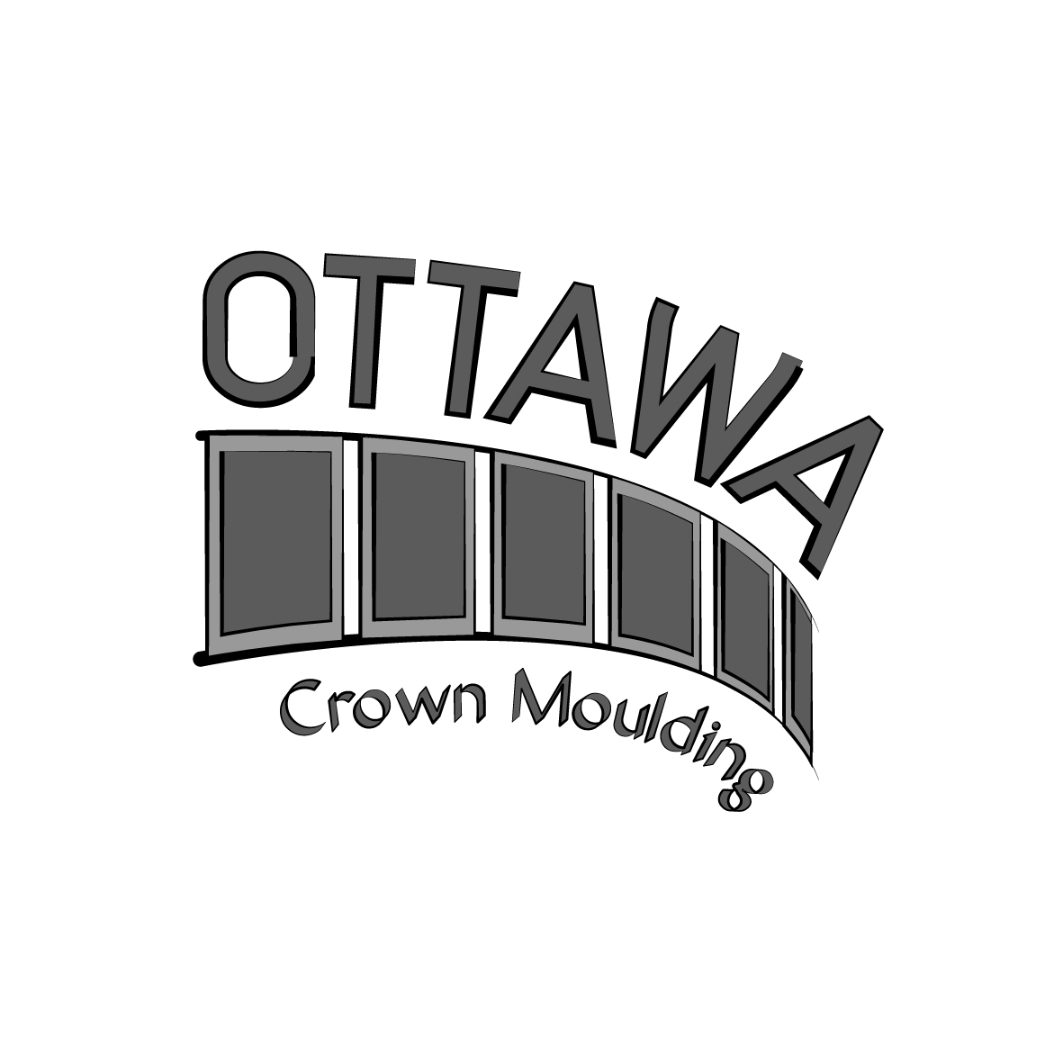 Elegant playful cleaner logo design for ottawa crown for D for design