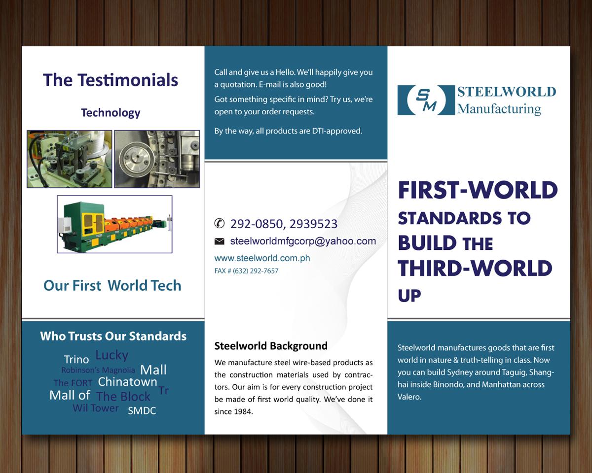 Upmarket Property Development Brochures : Modern upmarket real estate brochure design for