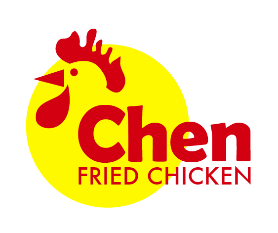 bold modern fast food restaurant logo design for chen fried