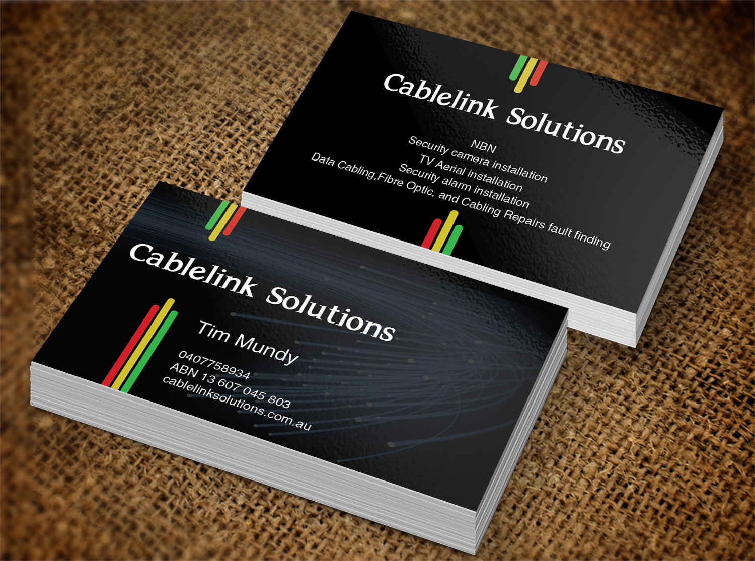 Business business card design for cablelink solutions by creation business card design by creation lanka for cablelink solutions design 7852880 colourmoves Choice Image