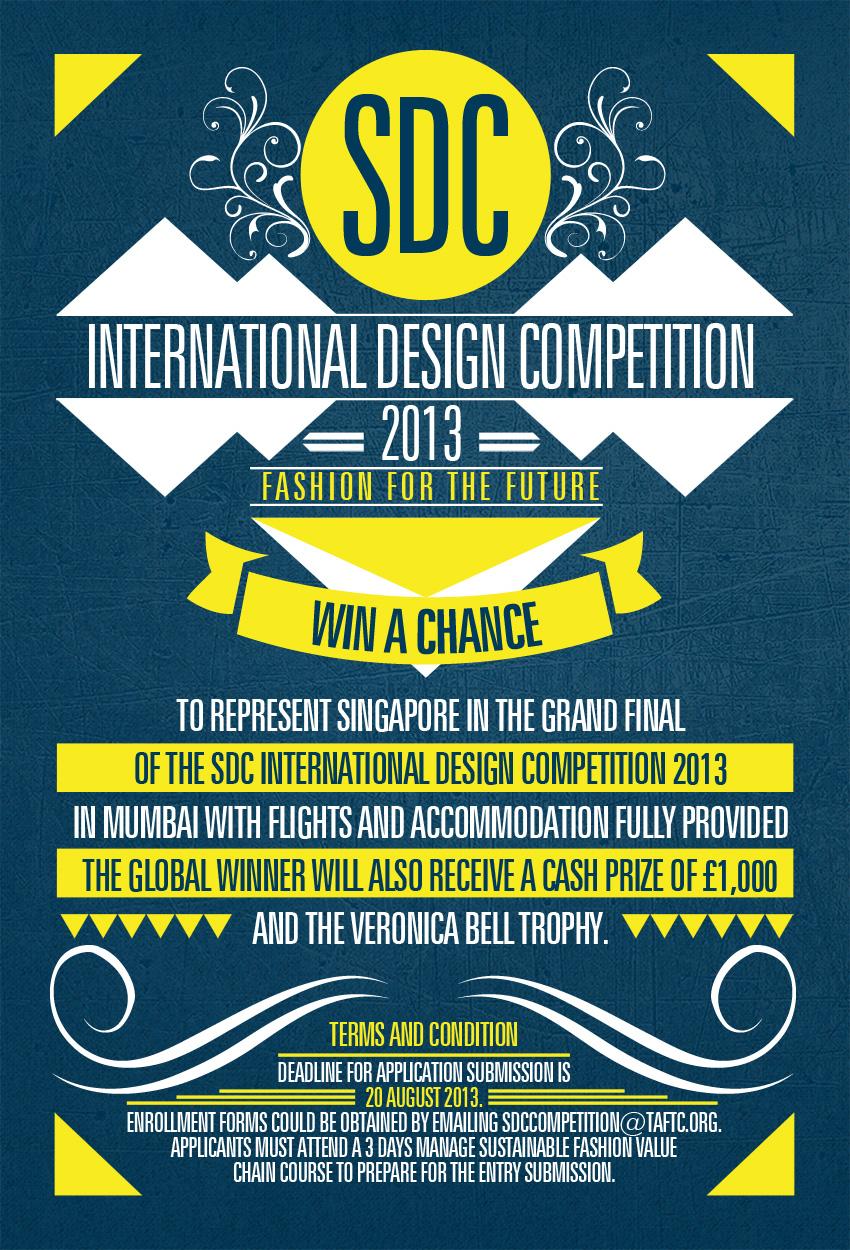Sdc International Design Competition Flyer Design