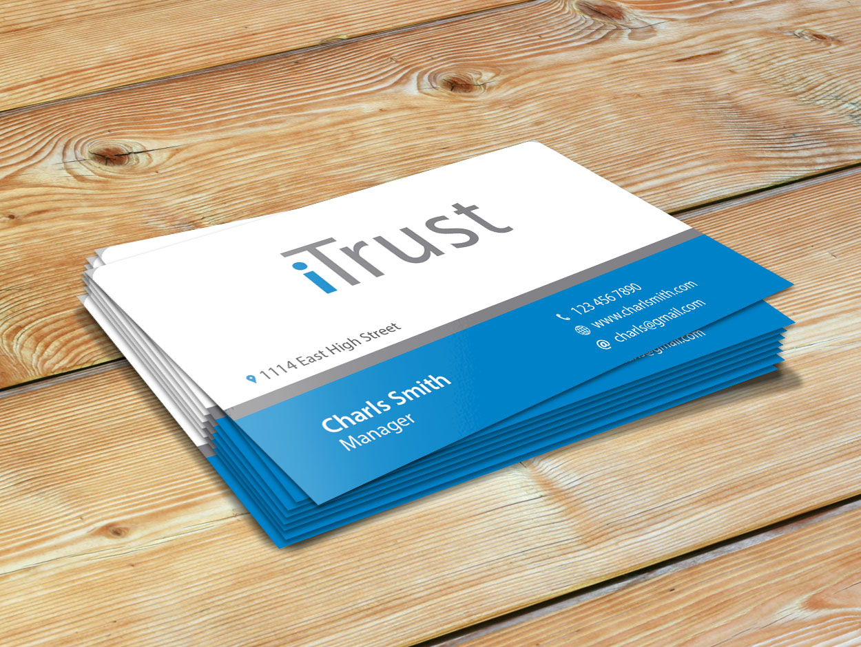Modern, Conservative, Business Consultant Business Card Design for ...