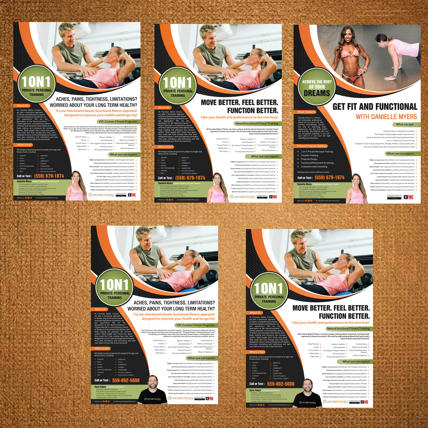 Upmarket Serious Fitness Flyer Design For A Company By Debdesign