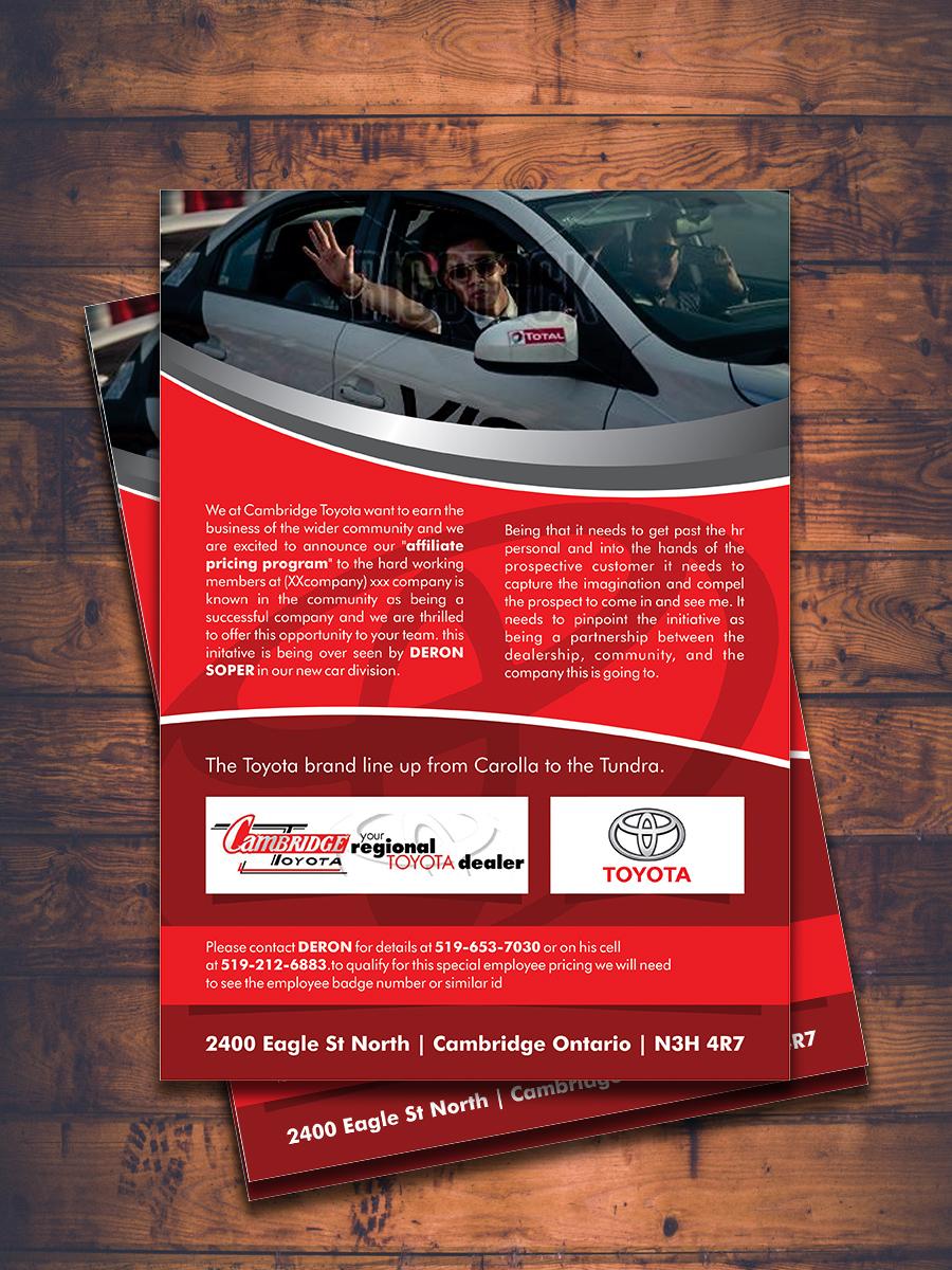 Modern Professional Automotive Flyer Design For