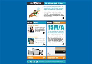 Newsletter Design by InfiniteGFX - Newsletter Design Project for electrical mainte...