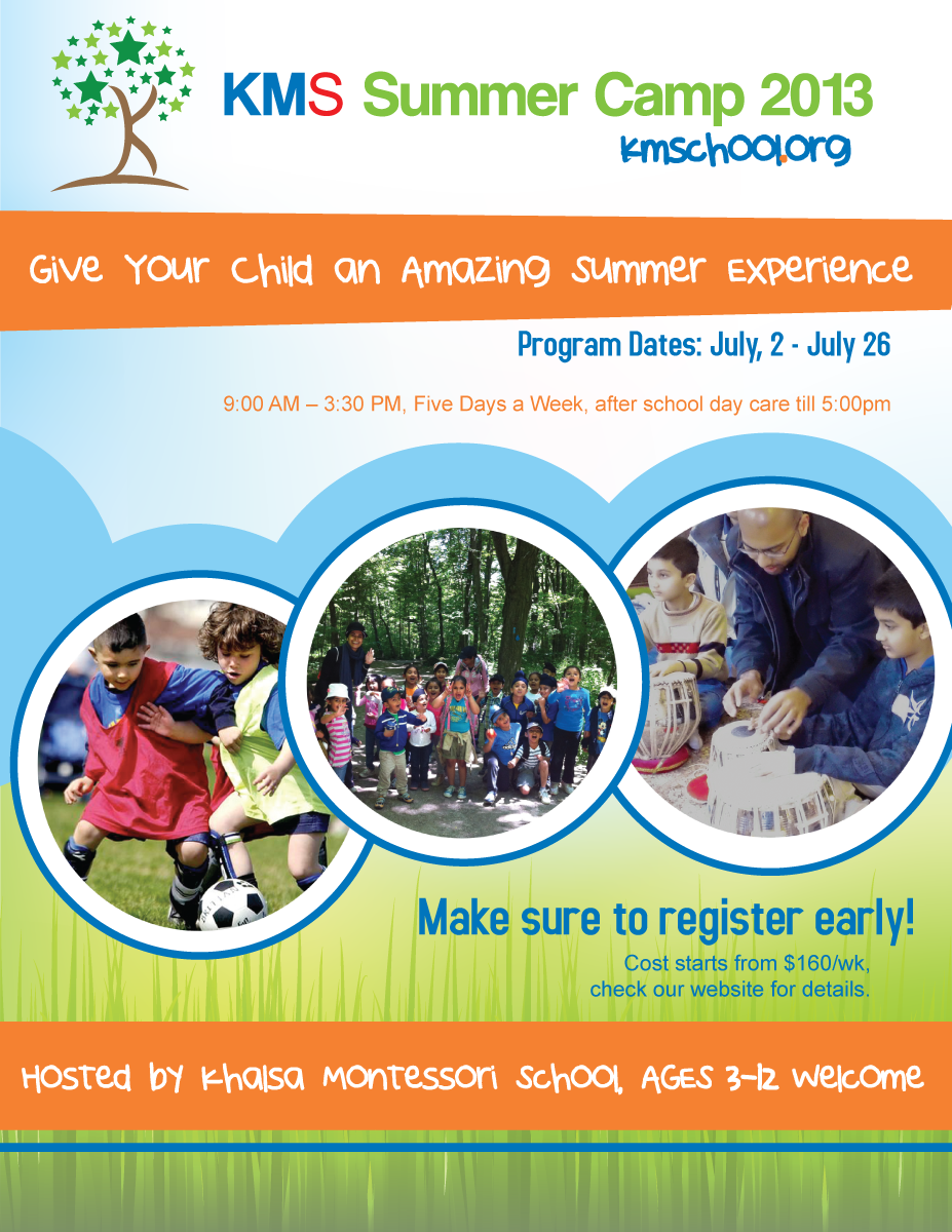 Summer camp flyers designs images Camp designs