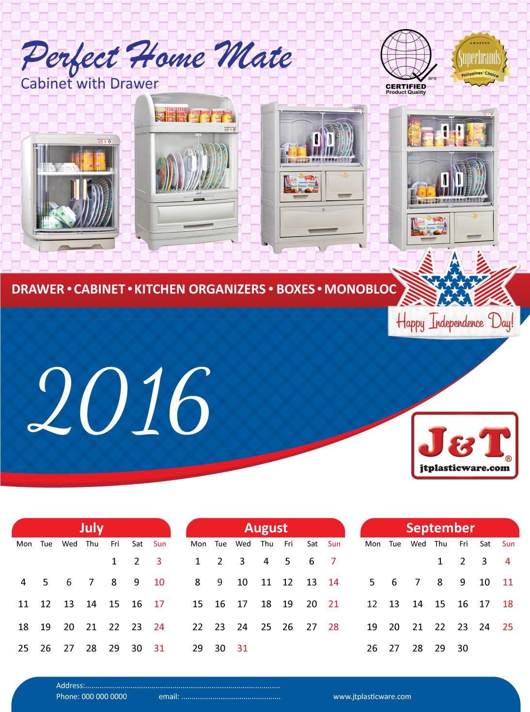 Elegant Calendar Design : Elegant playful calendar design for joeben tai by parul
