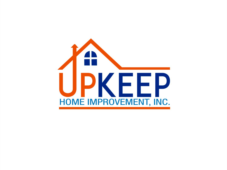 Bold Masculine Home Improvement Logo Design For Upkeep Home Improvement Inc By Dr Z Design