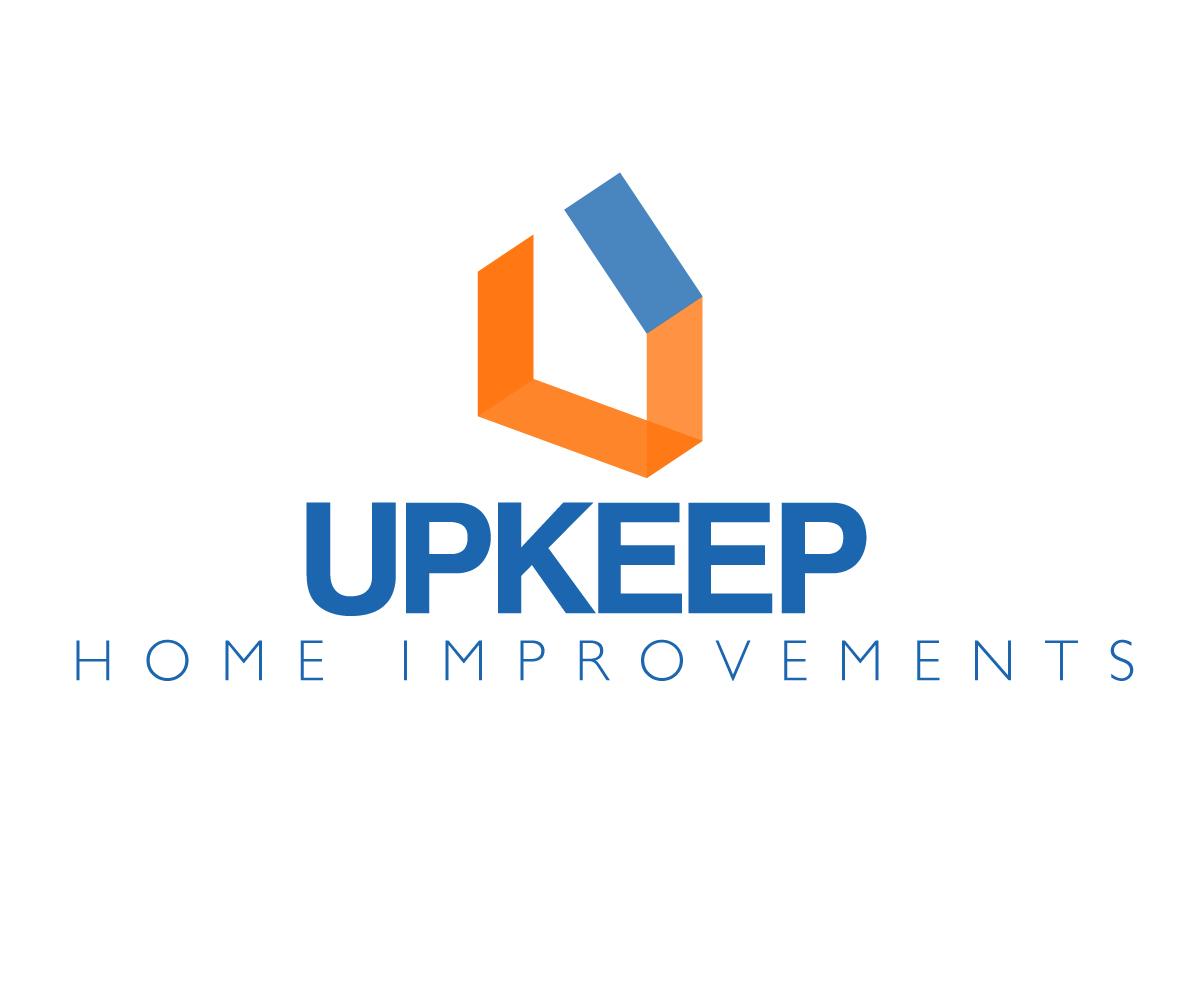 Bold Masculine Home Improvement Logo Design For Upkeep Home Improvement Inc By Boyd Design