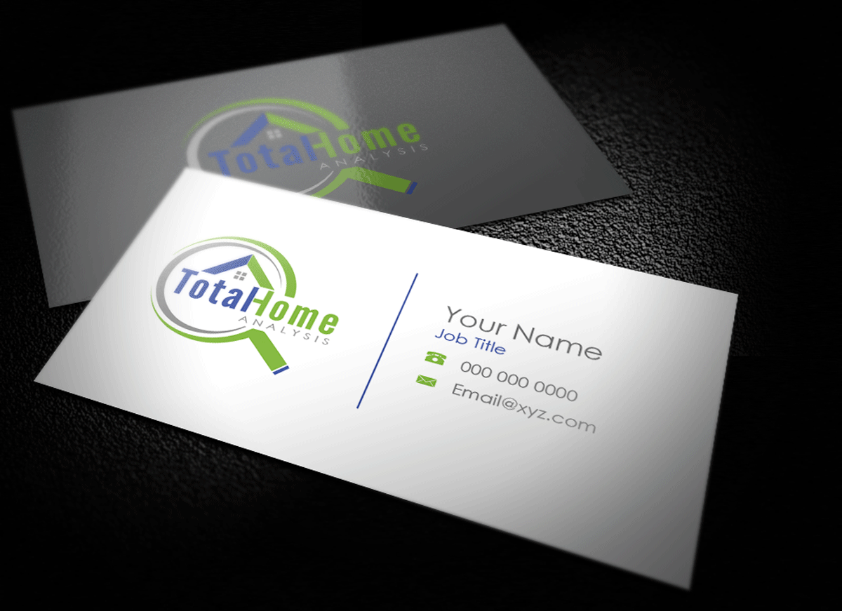 Business business card design for total home analysis by riz business business card design for total home analysis in united states design 7921299 reheart Gallery