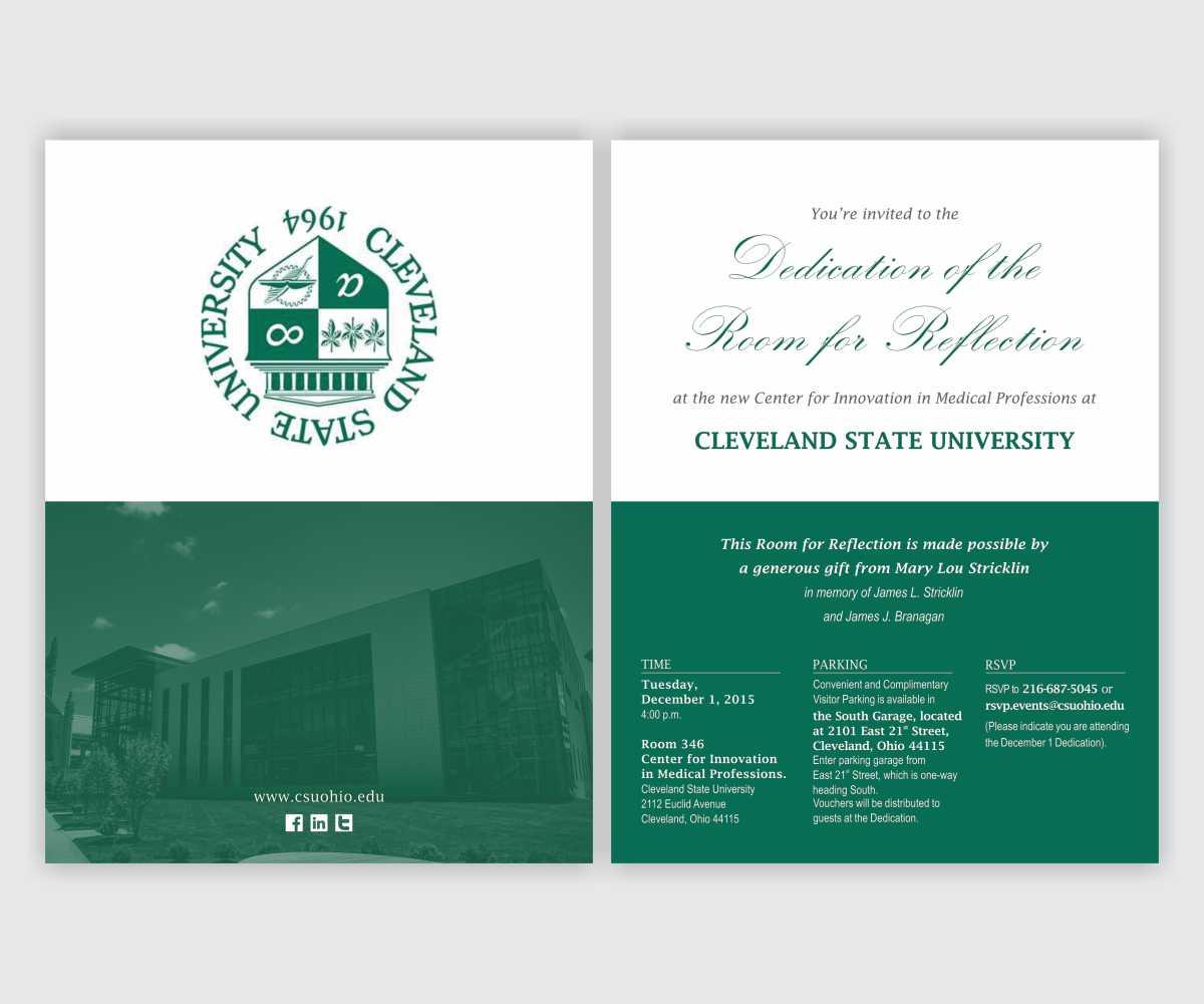 Invitation Design for H M P by Cut and Glue | Design #7939047