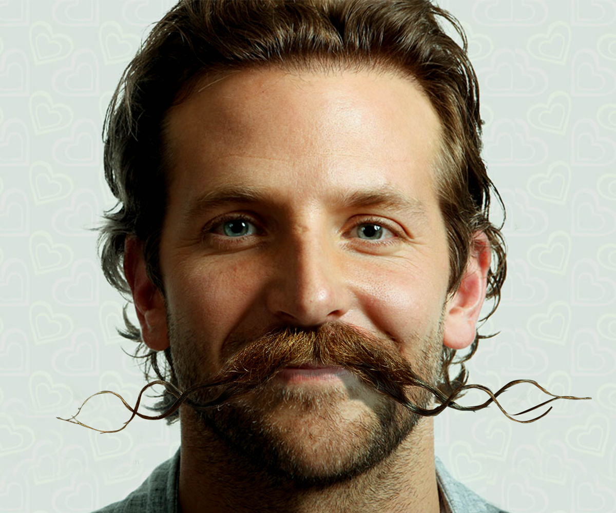 Celebrities Photoshopped With Crazy Facial Hair For Movember