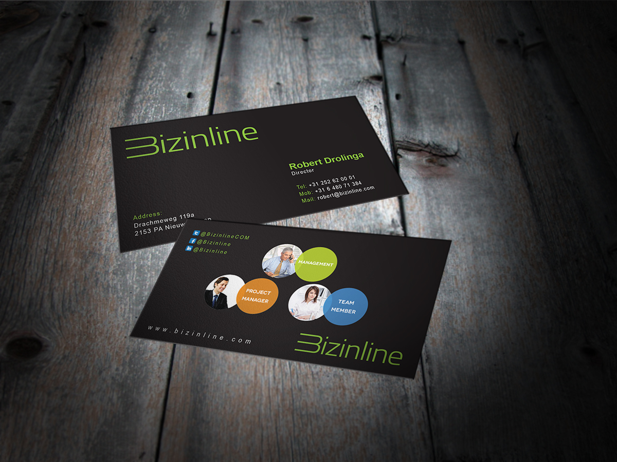 Serious, Modern, Software Business Card Design for a Company by MT ...