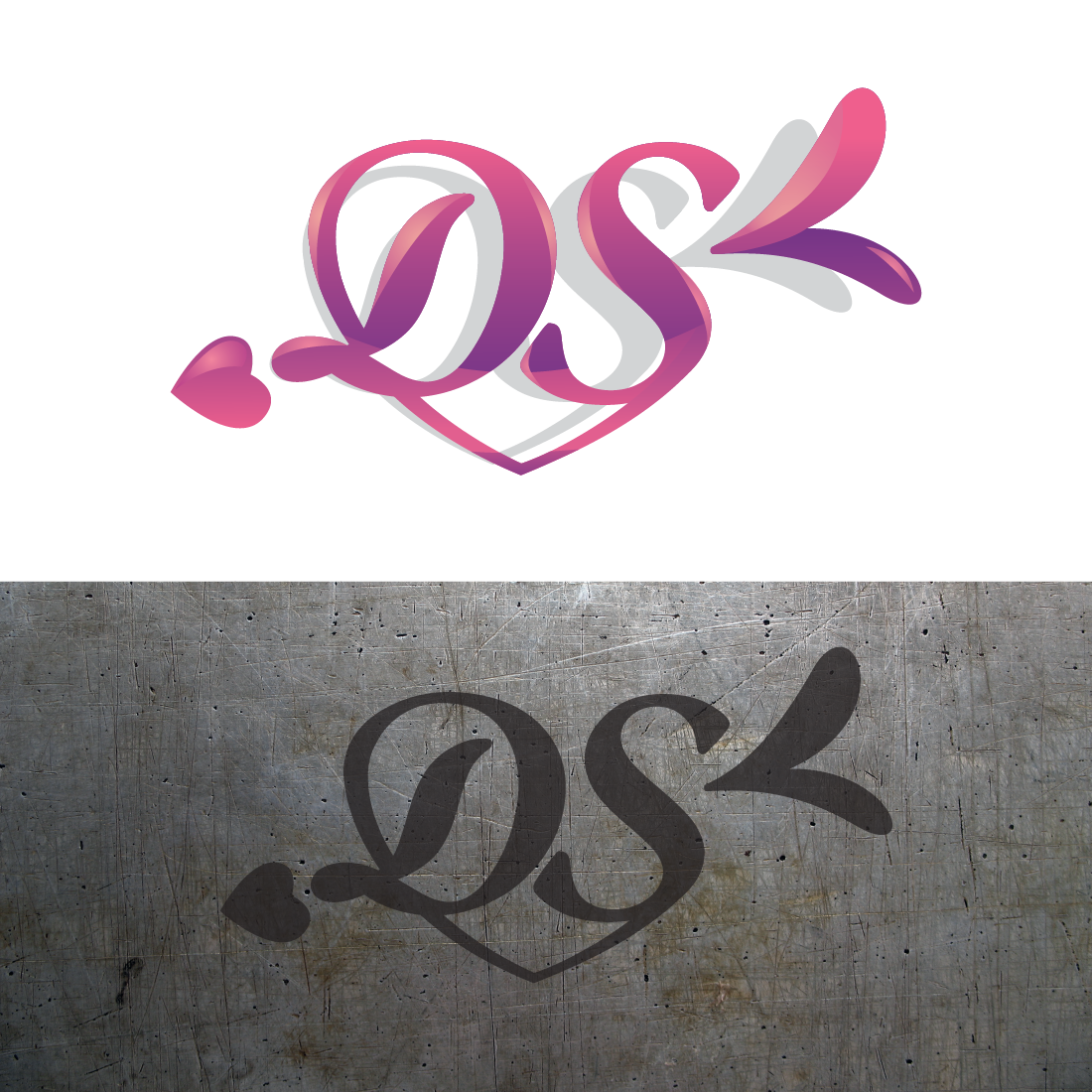 modern professional marketing logo design for ds by d