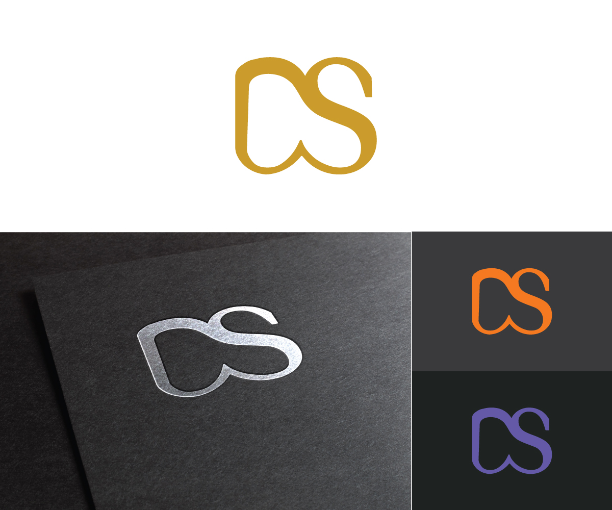 modern professional marketing logo design for ds by