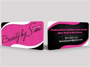 Beauty Salon Business Card Design Galleries for Inspiration