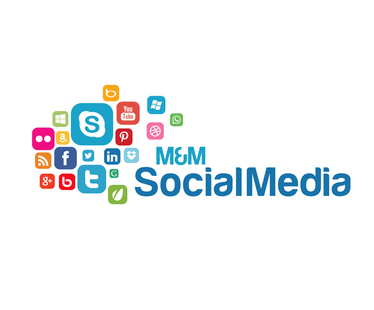 Modern, Bold, Health And Wellness Logo Design for M&M Social ...