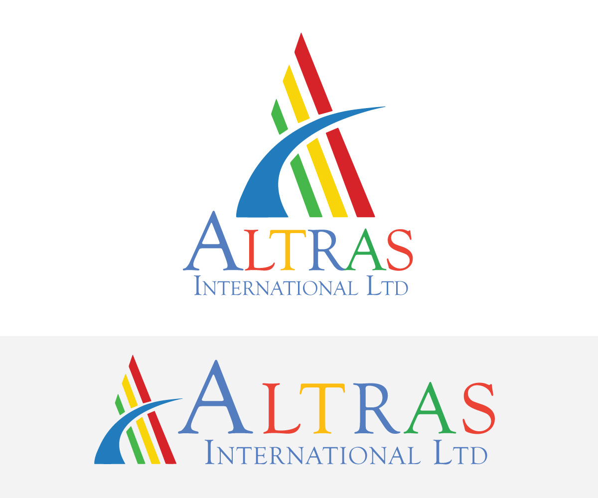 Elegant playful business logo design for altras for International design company