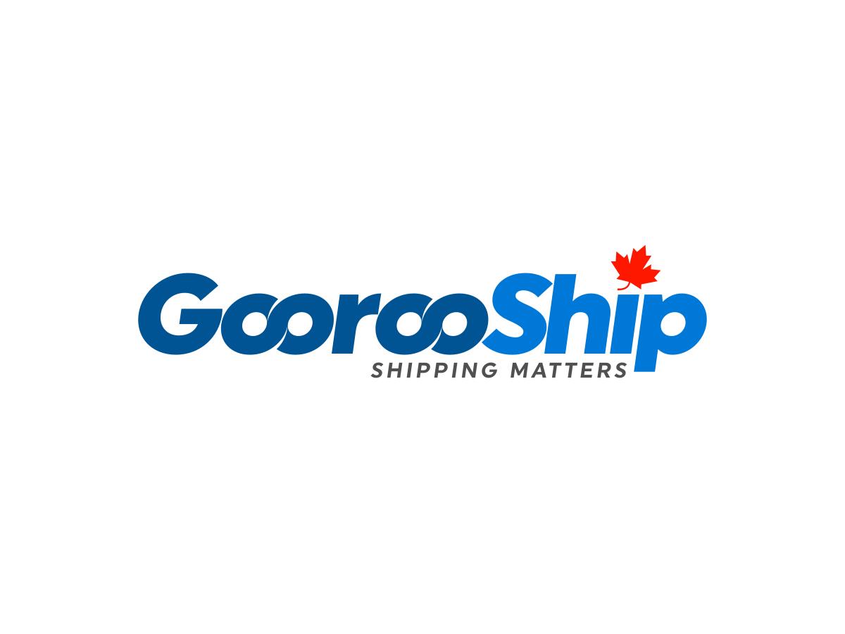 Goorooship courier service logo by explogos