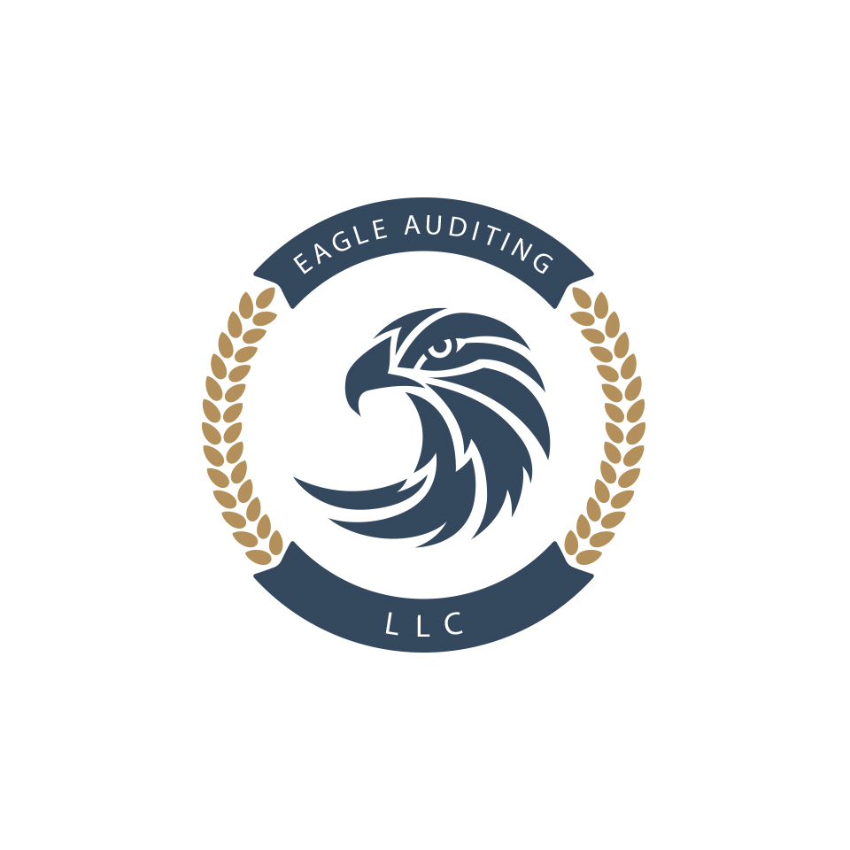 serious modern auditing logo design for eagle auditing llc by