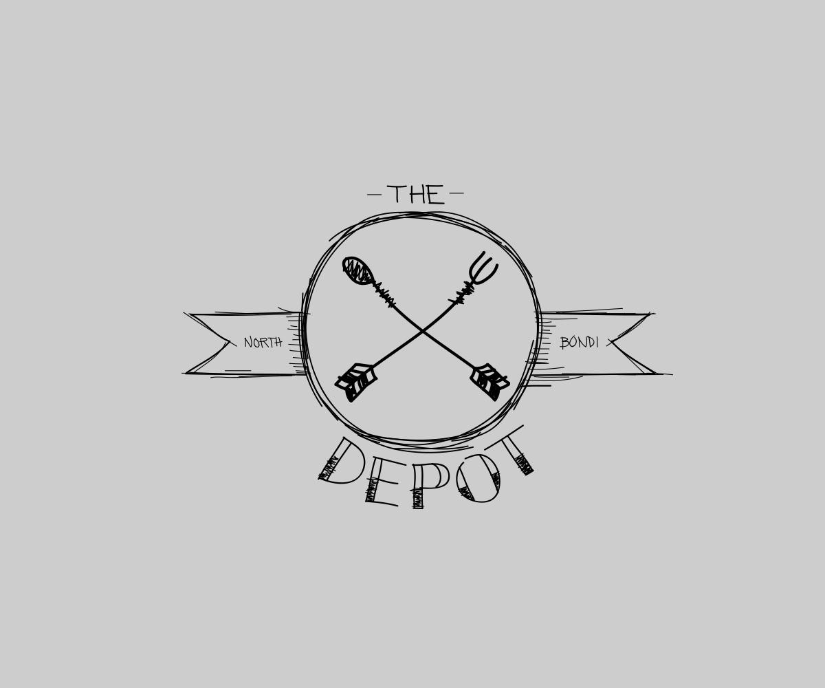 The depot Logo Design by JMC