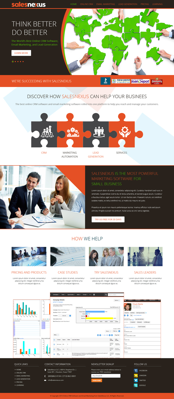 Upmarket Bold Marketing Web Design For A Company By Sj Designer Design 8160965