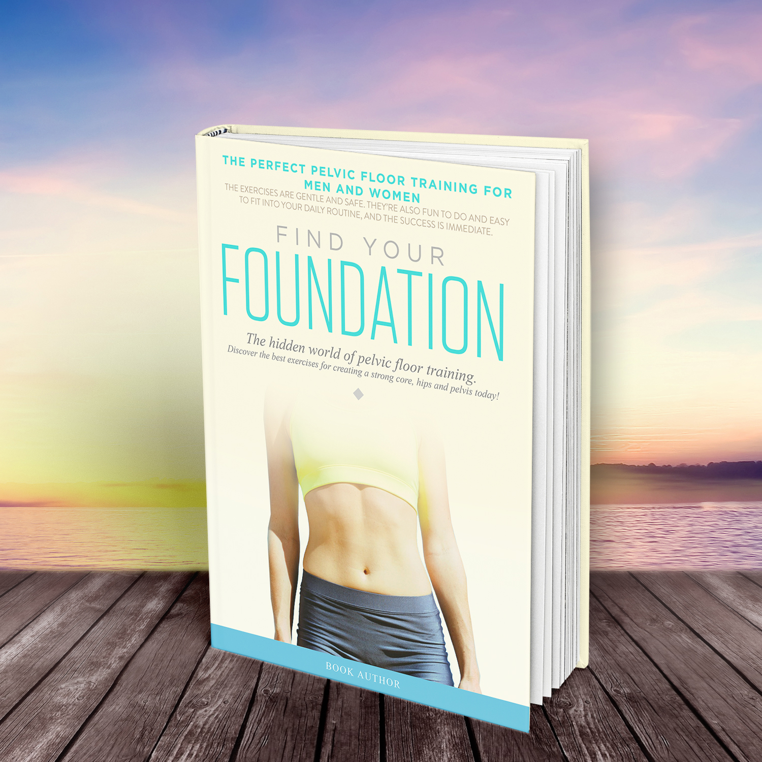 Health Book Cover Design : Serious traditional health and wellness book cover