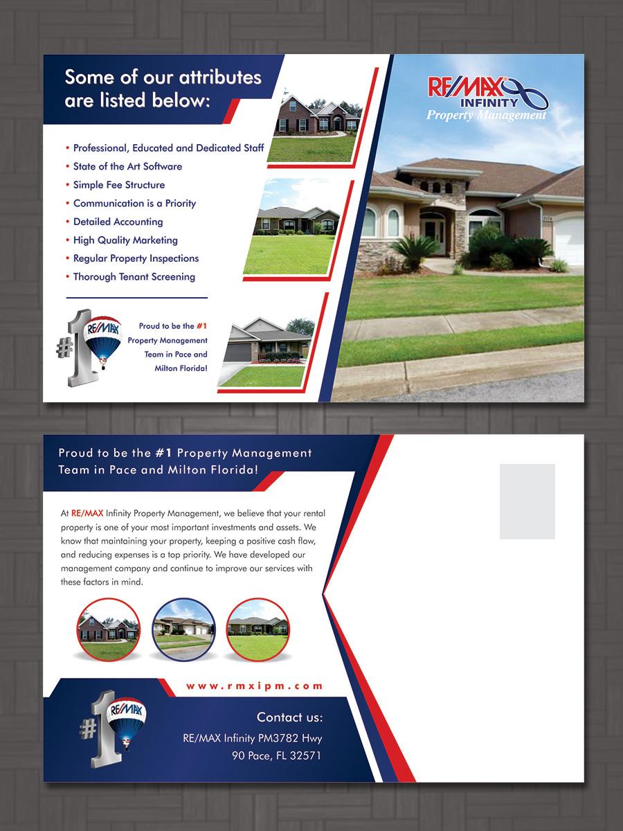 property management postcard ideas