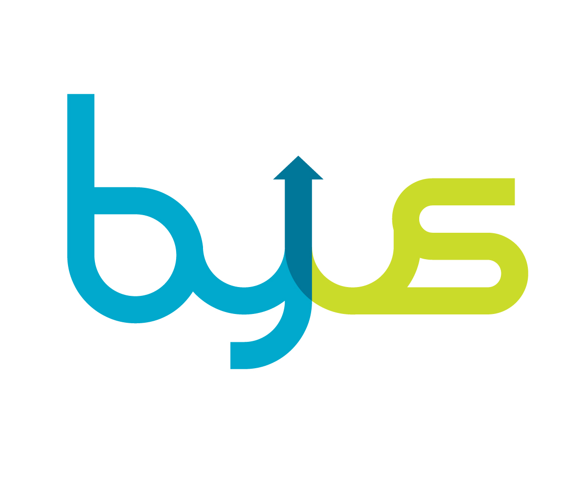 upmarket modern investment logo design for byus by. Black Bedroom Furniture Sets. Home Design Ideas