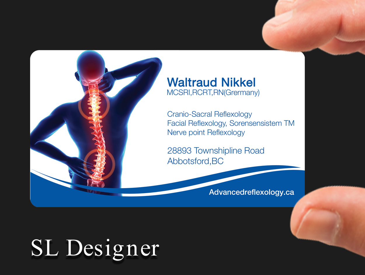 Bold, Professional, Health And Wellness Business Card Design for ...