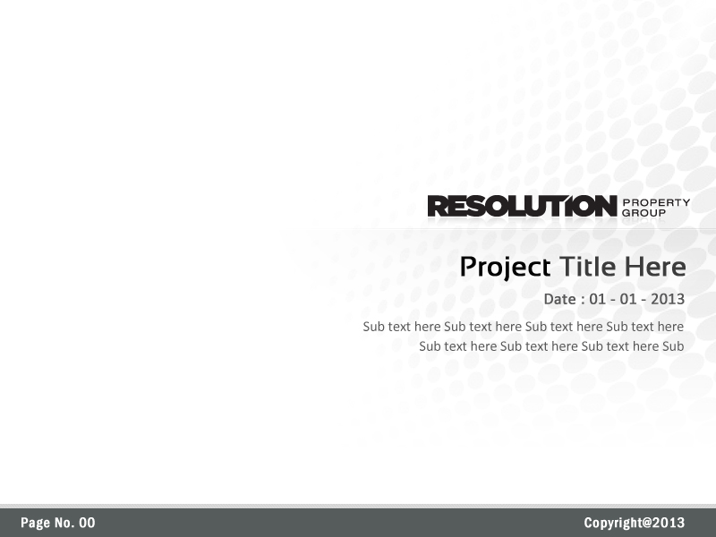 Bold, Professional, It Company PowerPoint Design for