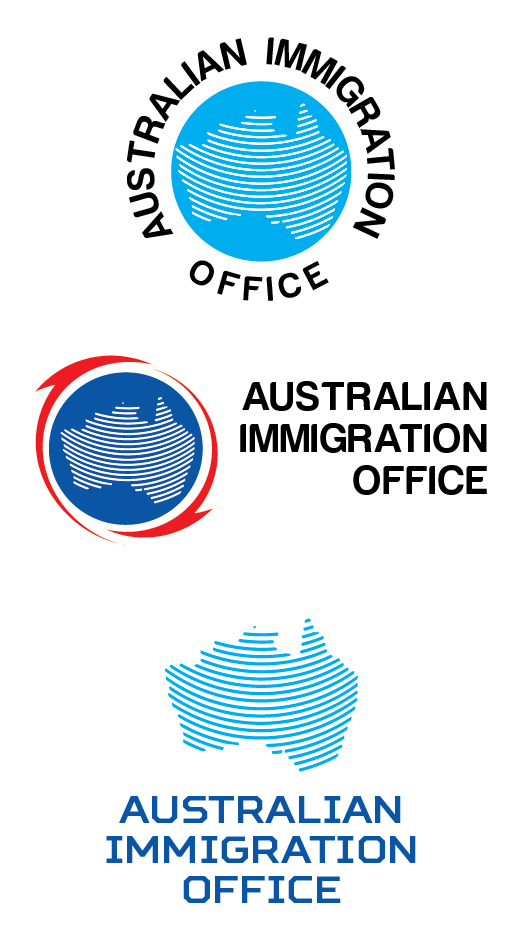 serious professional legal logo design for australian immigration office by fransdesign. Black Bedroom Furniture Sets. Home Design Ideas