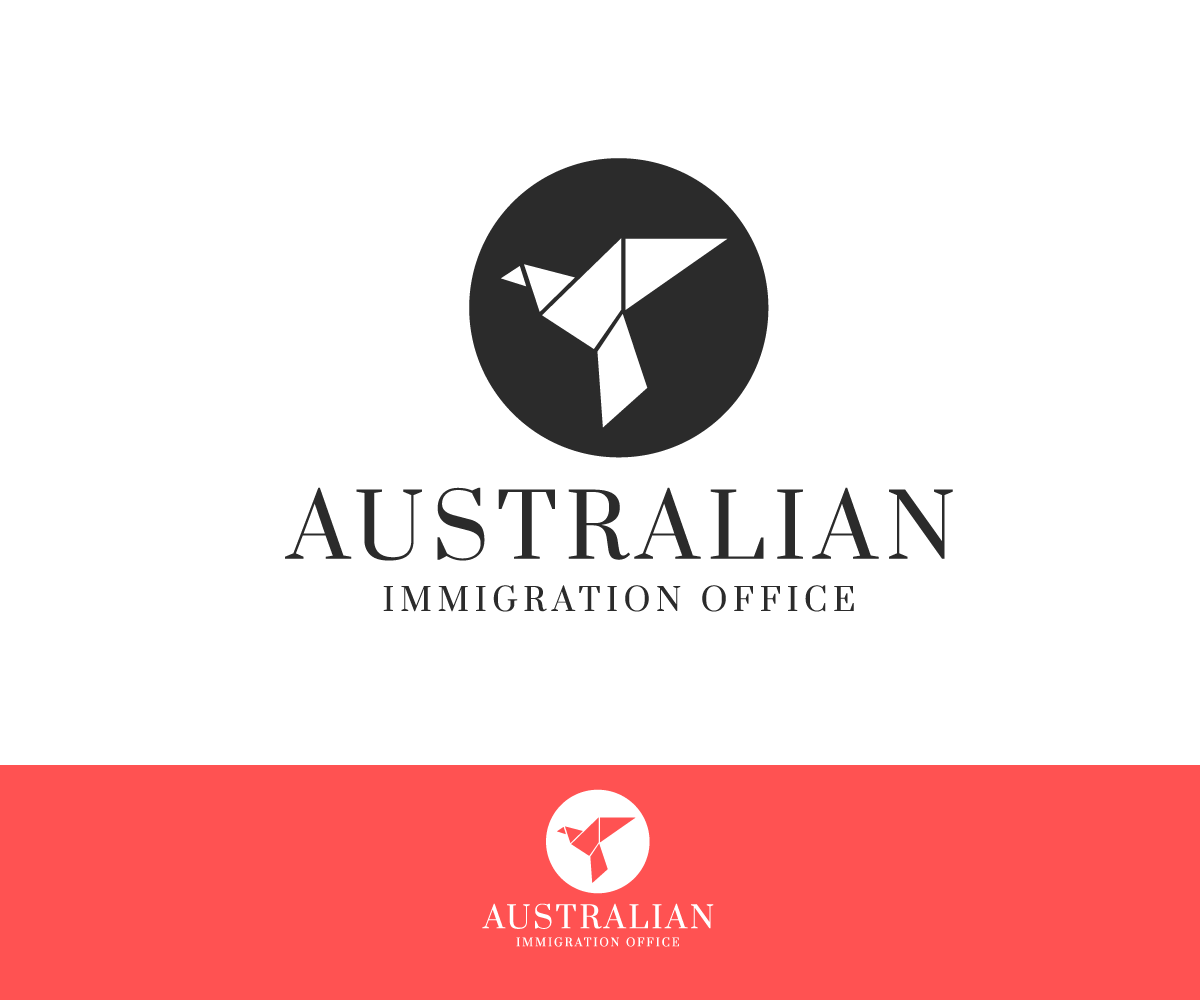 serio profesional legal dise o de logo for australian immigration office by shzyb dise o. Black Bedroom Furniture Sets. Home Design Ideas
