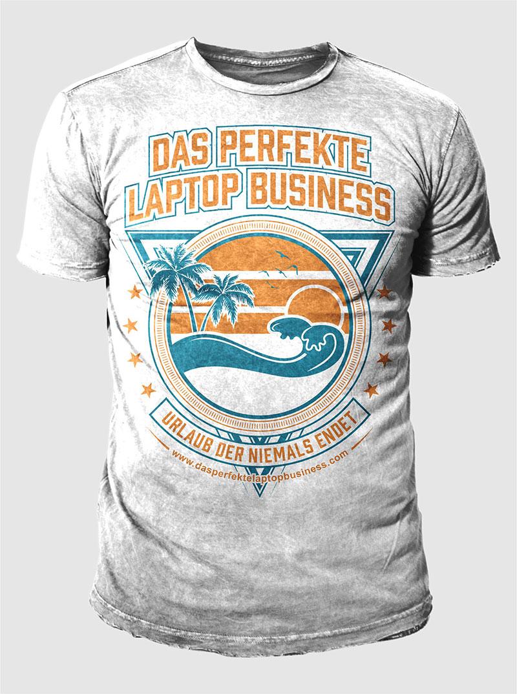 Modern elegant business t shirt design for ralf schmitz for Business t shirt design