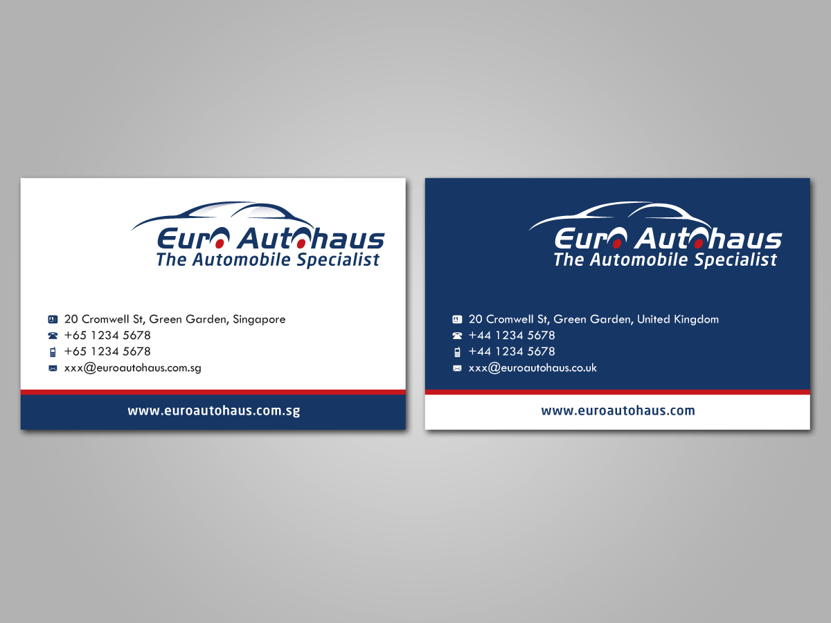 Business Card Design by Dedy Christian for Namecard Designs+Logo for a ...