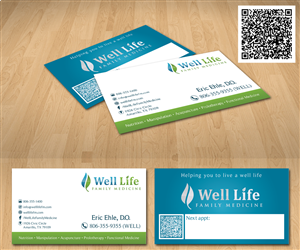 family medicine business card design project business card design by radu borzea - Medical Business Cards